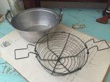 フランス アンティーク おままごと用 アルミ製 鍋&水切りセット