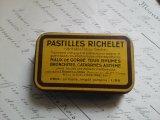 アンティーク Tin缶 「PASTILLES RICHELET」