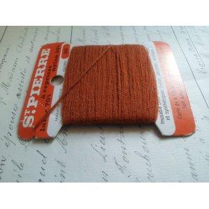 画像2: フランス アンティーク 糸巻き ST PIERRE オレンジ