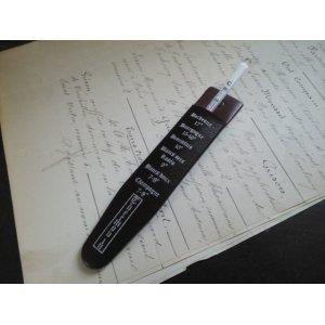画像1: フランス アンティーク ワイン 温度計
