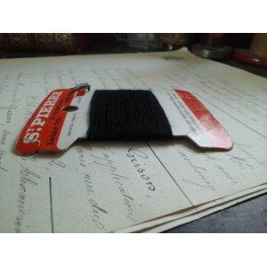 画像4: フランス アンティーク 糸巻き ST PIERRE ブラック nylon