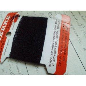 画像2: フランス アンティーク 糸巻き ST PIERRE ブラック nylon