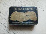アンティーク Tin缶 「KALMINE 12 CACHETS」