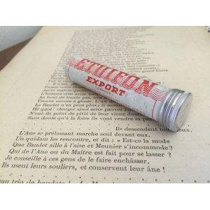 画像1: フランス アンティーク 小さなアルミ缶 筒型 OR