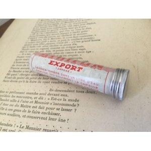 画像4: フランス アンティーク 小さなアルミ缶 筒型 OR