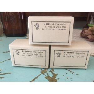 画像1: アンティーク ペーパーボックス 紙箱 Pharmacien 薬箱