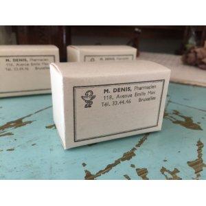 画像2: アンティーク ペーパーボックス 紙箱 Pharmacien 薬箱