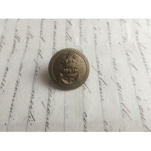 画像4: イギリス ヴィンテージ メタル ボタン 王冠/イカリ 海軍